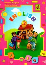 Англійська мова 3 клас Карпюк, Когут