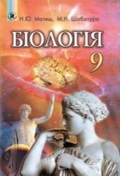 Біологія 9 клас. Матяш, Шабатура